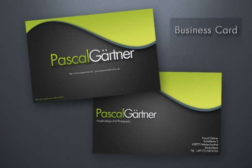 PG - business card