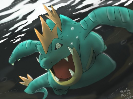 Pokemon Feraligatr
