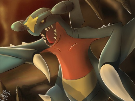 Pokemon Garchomp