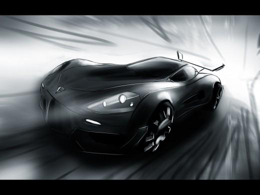 Porsche - speedpainting