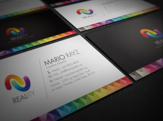 Reality business card