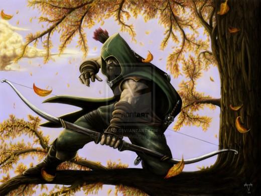 Robin Hood by Alberto Acquaviva