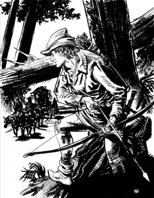 Robin Hood by Deankotz