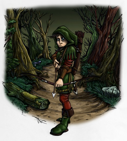 Robin Hood by Mirrorwood Comics