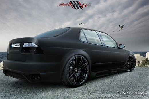 Saab 9-5 Sedan - Black Matte