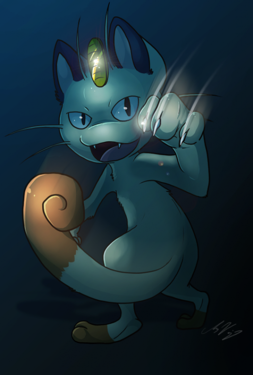 Speedpaint Meowth