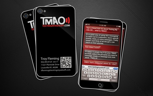 TMAO business cards