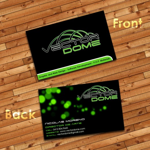 Vector Dome Business Card