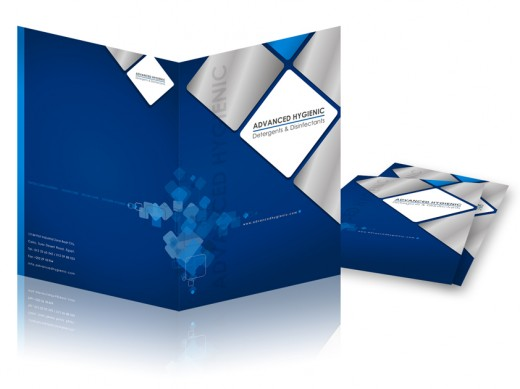 adv hygienic brochure cover