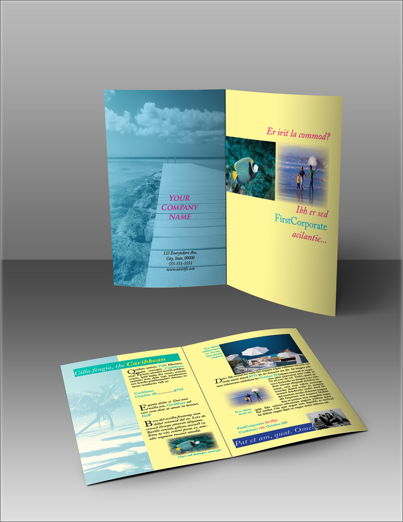 travel brochures examples