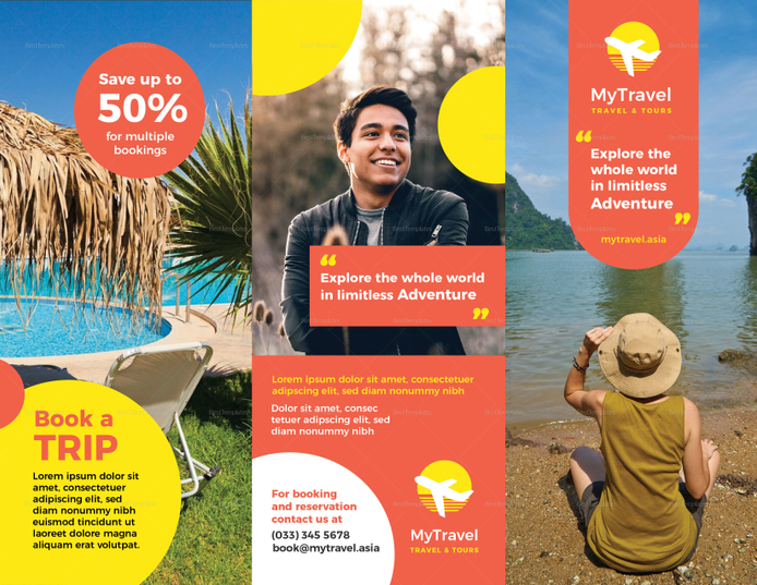 Best Travel Agency Brochure Template
