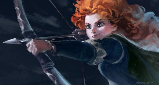 Brave - Merida