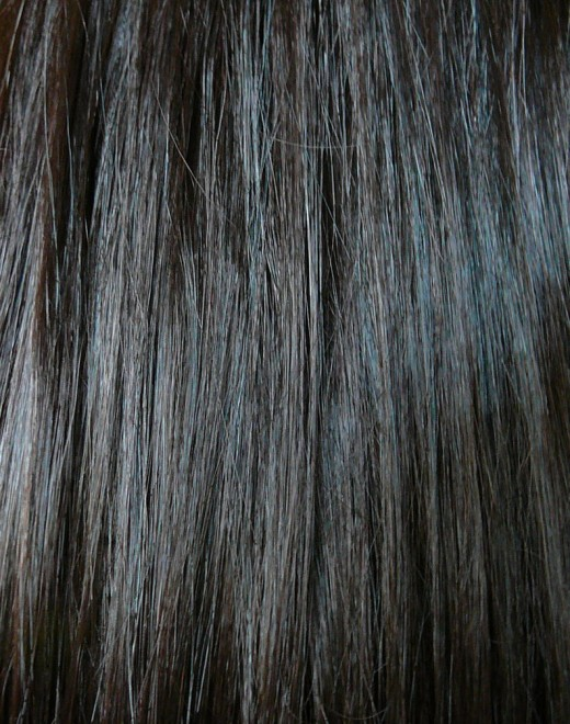 Brown Black Hair Texture Stock