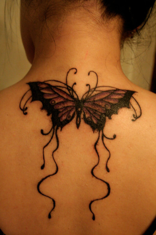 Butterfly on Back