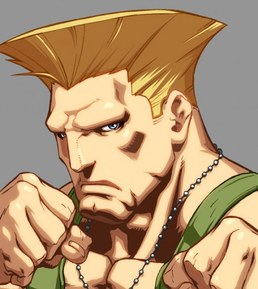 Character Select- Guile
