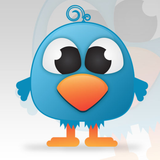 Create a Cute Twitter Bird Character in Illustrator
