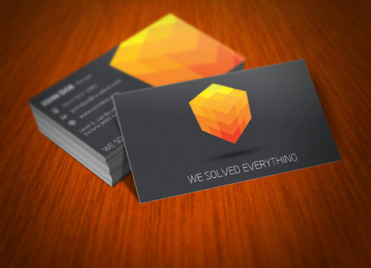 Cubic Business Card 03