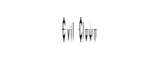 Evil Clown Font