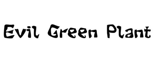 Evil Green Plant