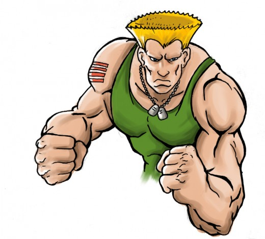 Guile Portrait