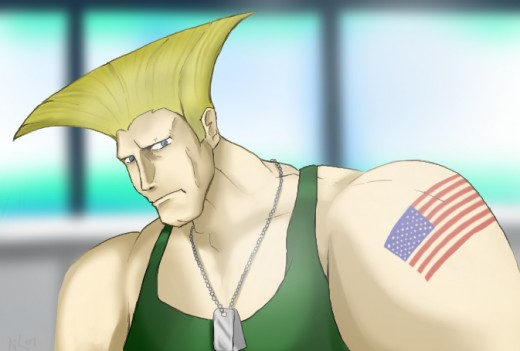 Guile by Mr-NiK