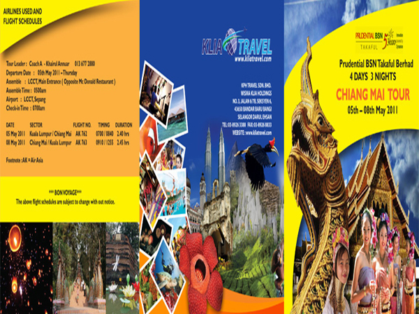 KLIA Travel - Chiang Mai Brochure