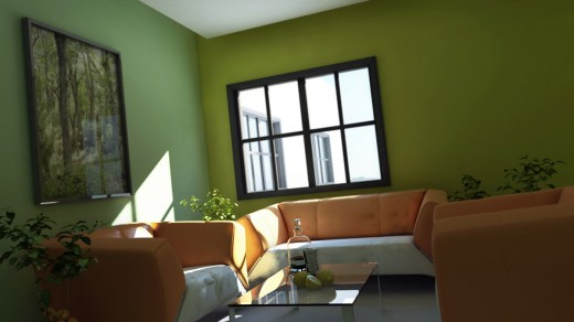 Lighting & Rendering in 3dsmax using mental ray – Interior