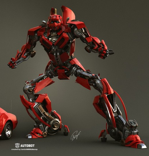 Making of Autobot, Transformers