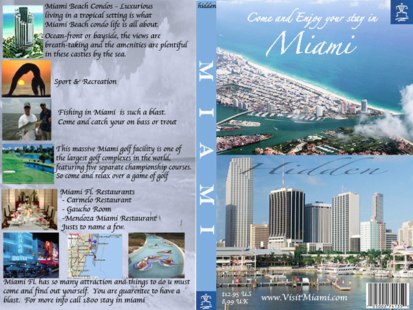 Miami hidden travel brochure