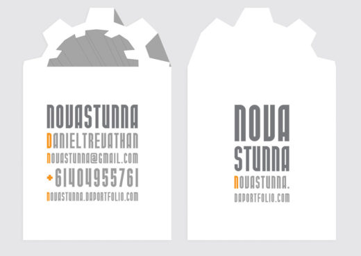 Novastunna Business cards