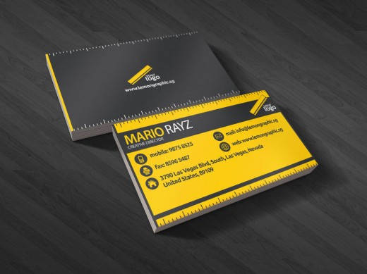 Renovator business card