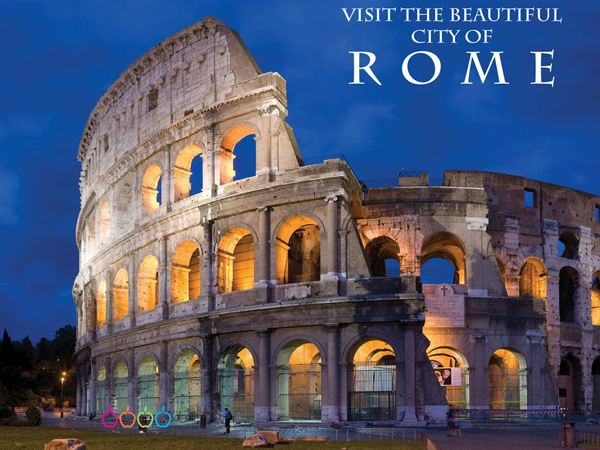 Rome Brochure Design