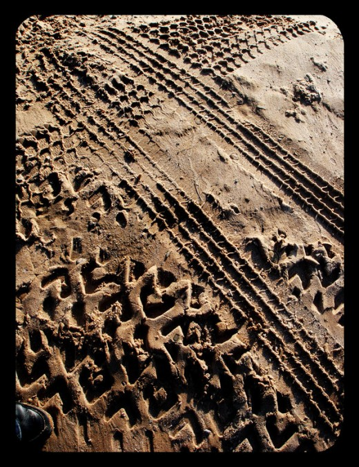 Sand Tracks by MidnightINK