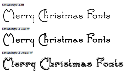 20 Awesome Christmas Fonts Free to Download - CSSDive