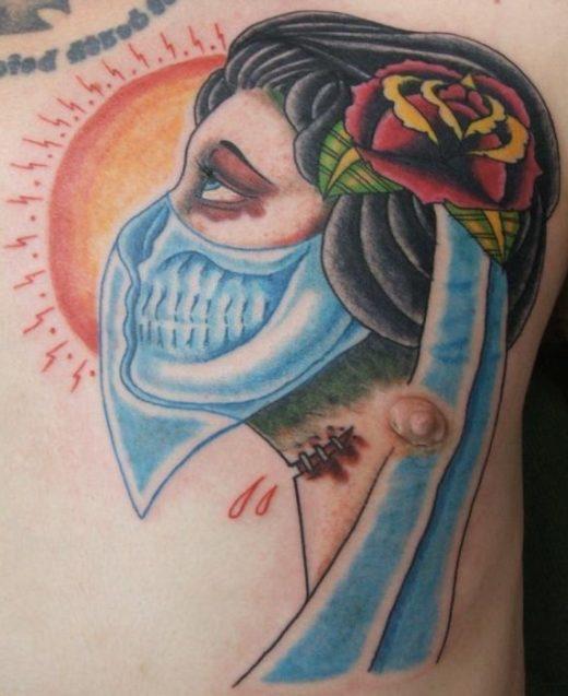 Skull Vale Gypsy Tattoo