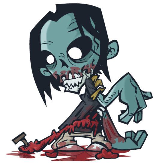 Stinking Zombie Flesh-Eater