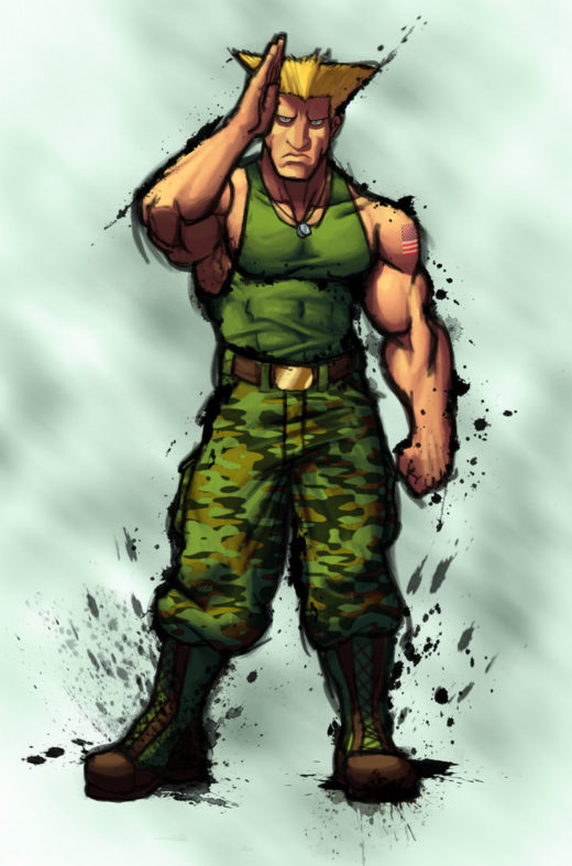 Street Fighter IV Guile