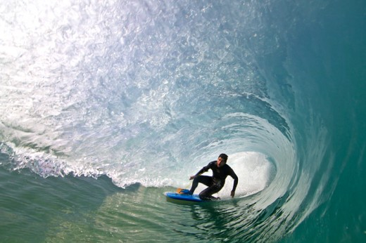 Surfing on the Knee