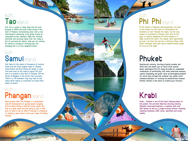 Thailand Travel Brochure