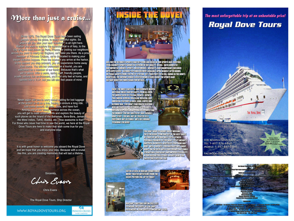 The Royal Dove Tours Brochure