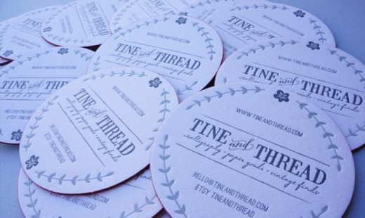Tine Andm Thread Business Card