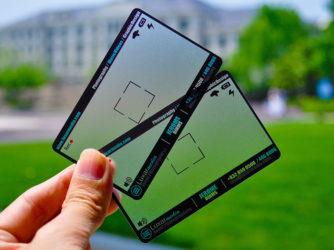 17 Commendable Transparent Business Card Designs