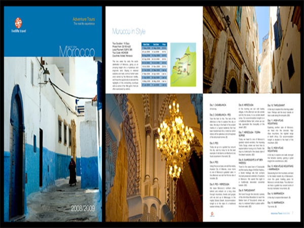 Travel Brochure Designs