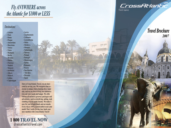 Travel Brochure Outside