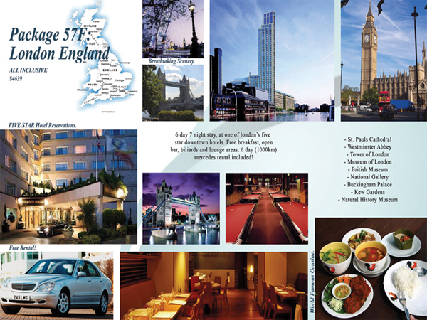 Travel Brochure inside