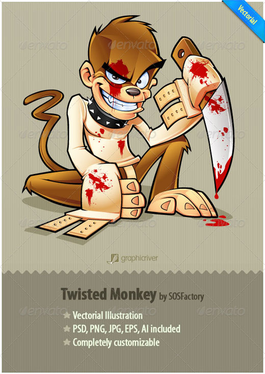 Twisted Monkey Studio Mascot
