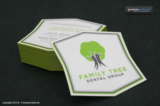 Unique Die Cut Business Cards