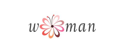 Woman Flower Butterly