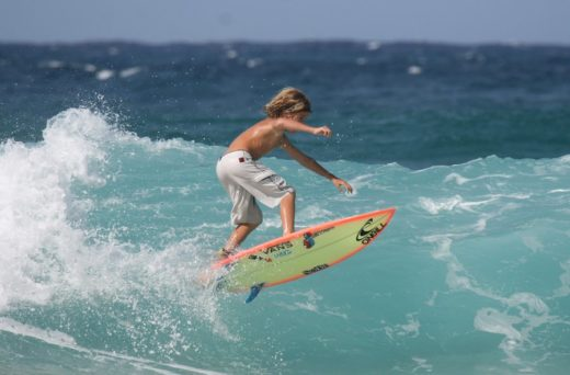 Young Surfing Ace