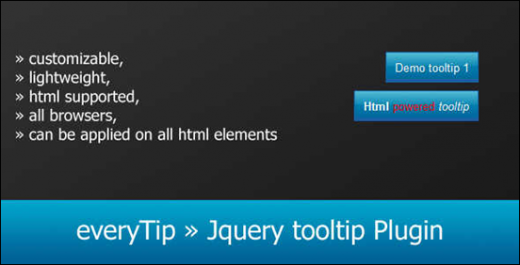how to add tooltip to span using jquery